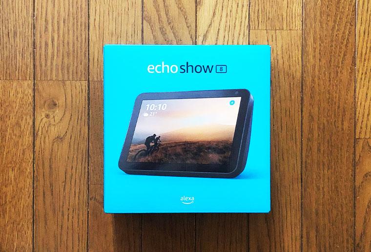 echo show 8の外箱画像
